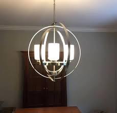 brushed nickel chandelier lighting home decorators collection 4 light brushed nickel chandelier at the home depot