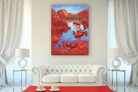Triptych is a modern type of interior design | paintings for home