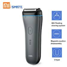 Xiao-<b>mi</b> SMATE ST-W382 Men's <b>Electric Shaver</b> Waterproof ...