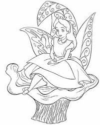 Small Picture Alice In Wonderland Tea Party Coloring Page Disney Pinterest