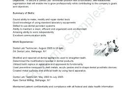 Dental Lab Technician Resumes Dental Lab Technician Resume Dental Lab Technician Resume Tier Co