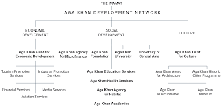Akdn Organizational Chart The Work Of The Ismaili Imamat At A Glance And The Most