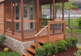 mobile home deck designs. what you need to know before designing deck for mobile homes | ideas home designs n