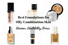 best foundations for bination skin