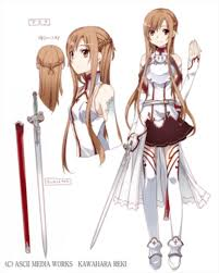 Asuna Character Design Asuna Sword Art Online The Reader Wiki Reader View Of