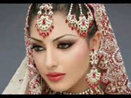 latest indian stani bridal makeup 2017