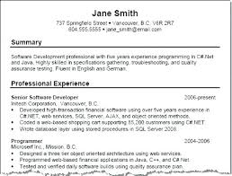 Examples Of Summary In Resume Resume Directory