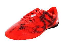 adidas f10 in kids soccer sneaker shoe red white black boys