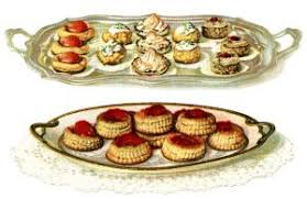 French Pastry Recipe Baked Goods Clipart Vintage Baking Clip Art