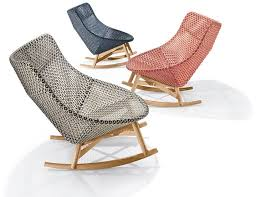 modern outdoor rocking chair. Modern Outdoor Rocking Chair Sebastian Herkners Mbrace Collection For Dedon At Imm Wallpaper Hd F