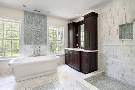 bathroom double sink cabinets. Dark Ceramic Tiled Wall Cream Marble Floor Tub Shower Tile Ideas Black Double Sink Cabinet Vanity Combinated Some Drawers Brown Wooden Carved Drawer Bathroom Cabinets