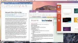Microsoft Office For Mac Gets A Major Update Techradar