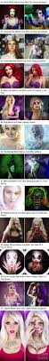 escape the fate makeup artist shows the horrifying fate of disney princesses and pop icons