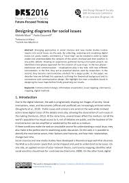 Designing Social Research Designing Diagrams For Social Issues Drs2016