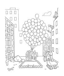Small Picture Up Coloring Pages Disney Movie Up Coloring Sheets coloring 3