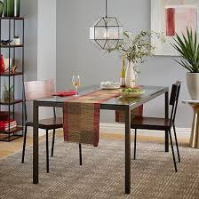box frame dining table glass west elm