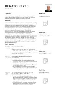 Insurance Consultant Resume samples