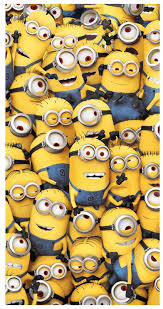 deable me army of minions beach towel