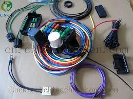aliexpress com buy cnch 12 circuit universal wire harness street cnch 12 circuit universal wire harness street rod rat rod muscle car