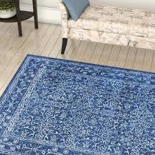 dark blue area rug bright rugs colored fl