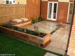 Small Picture Plain Small Garden Ideas Decking Deck Slightly Raised Balustrade