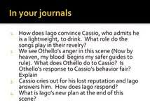essay othello iago intro of a research paper buy bachelor thesis essay othello iago