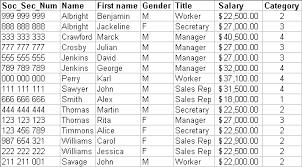 Microsoft Excel Data Lists