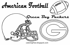 Green Bay Packers Coloring Pages Green Bay Packers Coloring Pages
