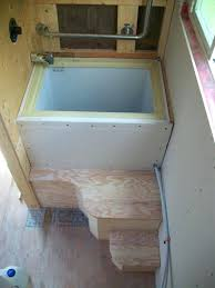 diy japanese soaking tub s sq ft tiny house on wheels in shower intended for soaking diy japanese soaking tub