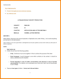 Sample Formal Letter Format Interesting Formal Letter Writing Format Sample Fitzjohnsonus