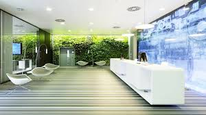 office reception decor. Greenwall Add Natural Contrast To The Space- Office Reception Ideas Inspire And Impres Decor T