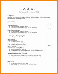 Free Resume Builder For First Job Best Professional Resume