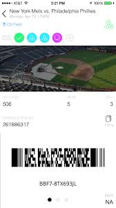 Citi Field Seating Chart Stubhub Which Mlb Teams Allow You To Scan Tickets On Your Phone