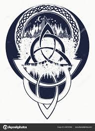 гора лес символ путешествия симметрия дизайн футболки туризма