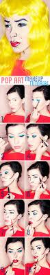 make up pop art make up