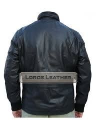 ricky men black er leather fashion jacket