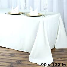 seamless value plus polyester tablecloth ivory tablecloths round tab