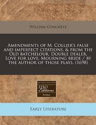 Amendments Of M Colliers False And Imperfect Citations From The