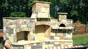 outdoor fireplace pizza oven combo how to build an outdoor fireplace with pizza oven pertaining to