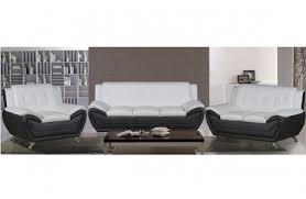 modern leather sofas. Deliah Modern Leather Living Room Collection Sofas
