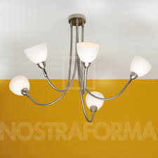 top light octopus light iglo ceiling lamp with 5 arms