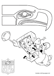 Small Picture NFL Seattle Seahawks Coloring Pages Seattle Seahawks Patrick and
