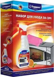 <b>Topperr</b> 3412 <b>Набор для ухода</b> за СВЧ, 2 предмета в Москве по ...