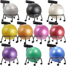 marvelous exercise ball chair base b93d in stunning home interior design ideas with exercise ball chair base