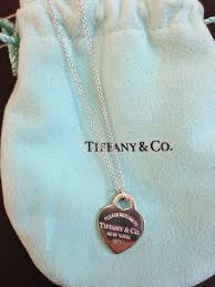necklace with pendant tiffany in 925