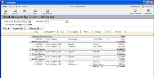 Quicken Chart Of Accounts Templates Using Quicken 2011 For Trust Accounting Oregon Law