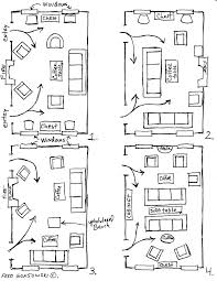 small narrow living room furniture arrangement. twelve furniture arrangements for a long narrow room via fred gonsowski garden home small living arrangement