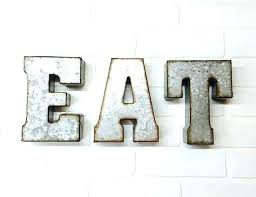 eat kitchen sign eat kitchen signs pretentious idea eat wall decor also eat sign metal letters