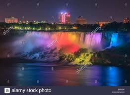 Light And Sound Show Niagara Falls Light Show Stock Photos Light Show Stock Images Alamy