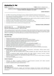 Sample Resume For Research Analyst Best Of Business Analyst Resume Format Cover Letter Business Analyst Resume